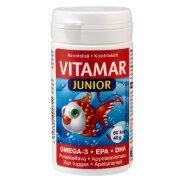 Жирные кислоты омега-3 (ЭПК и ДГК) в жевательных капсулах со вкусом апельсина Vitamar Junior 60 шт