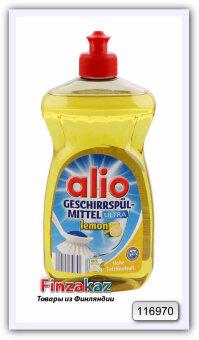 Гель-концетрат для мытья посуды, Alio Lemon, 500 мл