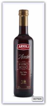 Высококачественный винный красный уксус Trasimeno Arioli 500 мл