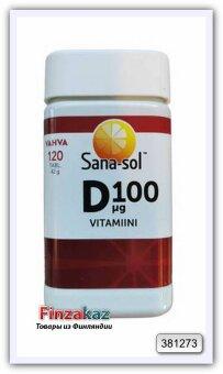 Витамин Sana-sol D100mg 120 шт