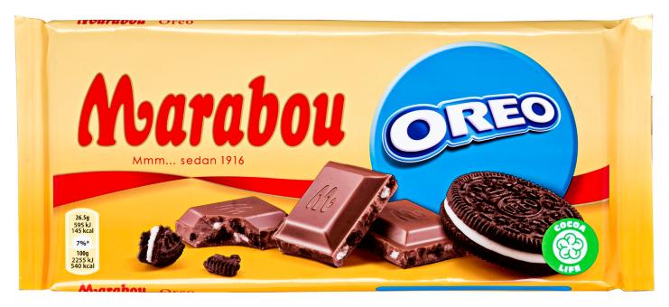 Шоколадка Marabou Oreo 185 гр