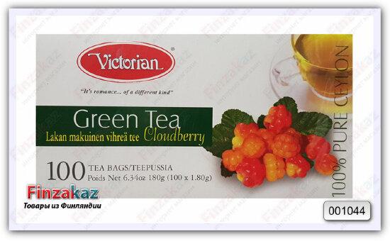 Чай Victorian (зелёный с морошкой) 100 шт