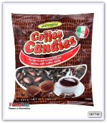 Карамель леденцовая Woogie  Coffee Candies - candies with coffee filling 225 гр