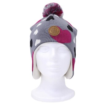 Зимняя шапка Kuoma Riemu pipo с принтом