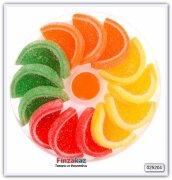 Мармелад с фруктовым вкусом (лимон, апельсин, яблоко, вишня) Makarena Woogie 200 гр