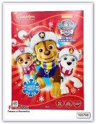 """Шоколадный календарь Disney """"Paw Patrol"""" 90 гр"""