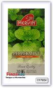 Чай травяной Mervin Piparminttu (перечная мята) 20 шт