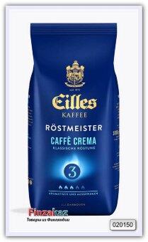 Кофе натуральный жареный в зёрнах J.J.Darboven Eilles Kaffee Cafe Crema 1 кг