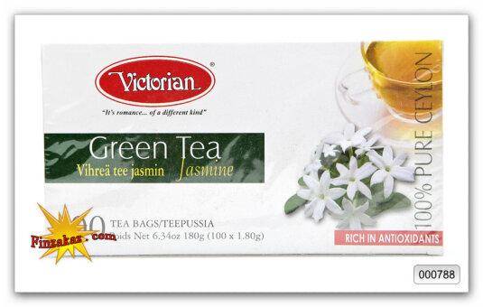 Чай Victorian (зелёный с жасмином) 100 шт