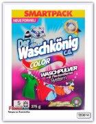 Стиральный порошок Clovin Der Waschkonig Color для цветного белья 375 гр