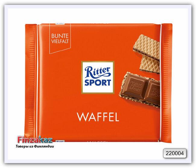 Шоколад Ritter Sport Waffel 100 гр