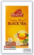 Чай чёрный Mervin Ceylon Blend musta 20 шт