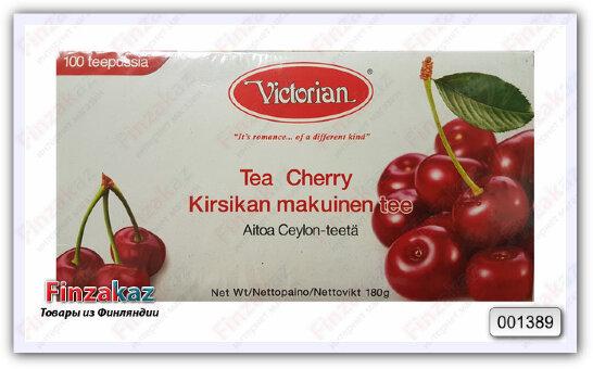 Чай Victorian (чёрный с вишней) 100 шт