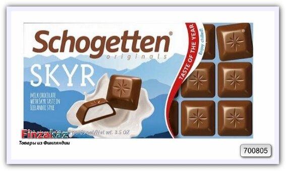 Шоколад SCHOGETTEN молочный с кремовой начинкой 100 г