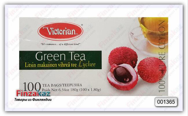 Чай Victorian (с ароматом личи) 100 шт