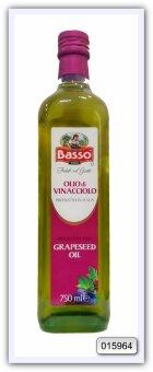Масло виноградное рафинированное Basso grapeseed oil 750 мл