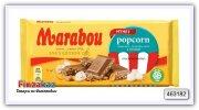 Шоколад молочный с попкорном Marabou chocolate bar Popcorn 185 гр