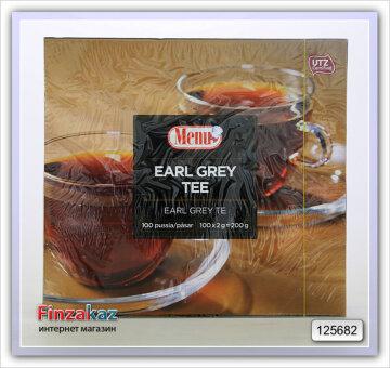 Чай Menu (чёрный с бергамотом) 100 шт