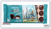 Шоколадные конфеты  «TO GO» с начинкой с мятным вкусом, Maitre Truffout 100 гр