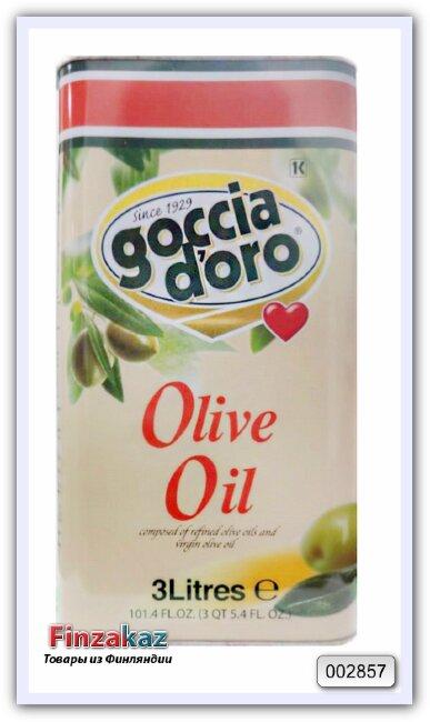 Оливковое масло Goccia D'Oro Olio di Oliva 3 л