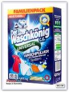 Стиральный порошок Der Waschkonig C.G. Universal – для цветного и белого белья 4,875кг