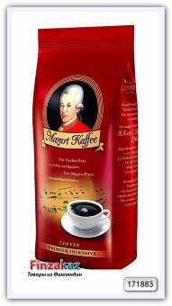 Кофе натуральный жареный молотый J.J. Darboven Mozart Kaffee Intensive 250 гр