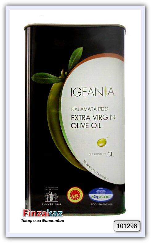 Масло оливковое EXTRA VIRGIN Igeania DOP KALAMATA 3 л (Греция)