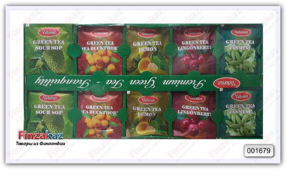 Чай Victorian Prenium green Tea 100 гр