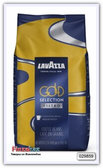 Кофе в зернах Lavazza Gold Selection Filtro 1кг