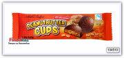 Шоколадные конфеты - чашечки с арахисовым маслом Maître Truffout's  Peanutbutter cups milk chocolate 3x20g