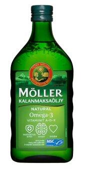 Рыбий жир Moller Kalanmaksaoljy 500 мл