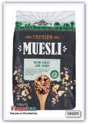 Мюсли PREMIUM MUSLI CROWNFIELD, с фруктами и семечками, 750 г
