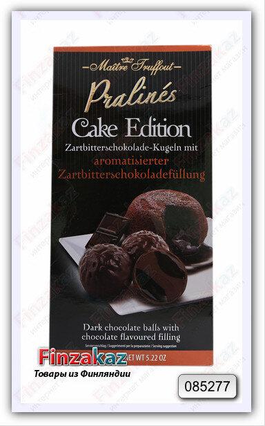 """Конфеты из темного шоколада Maitre Truffout Cake Edition""""двойной шоколад"""" 148 гр"""