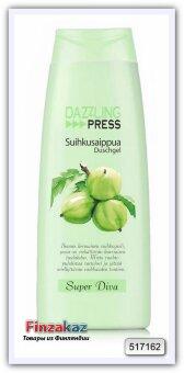 Крем-гель для душа Dazzling Press Super Diva 250 мл