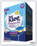 Таблетки для посудомоечной машины Herr Klee C.G. Silver Line 102 шт