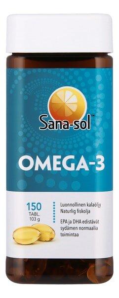 Рыбий жир Sana-sol Omega-3 150 шт