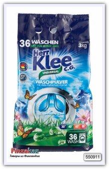 Стиральный порошок Washing powder Her Klee C.G. universal 3 кг