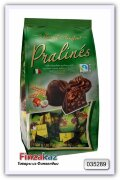 Конфеты из молочного шоколада с орехово-кремовой начинкой и хлопьями Pralines milk chocolate hazelnut & cereals 300 гр