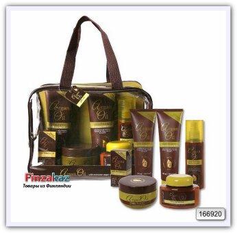 Подарочный набор Argan Oil gift set с аргановым маслом 6 шт