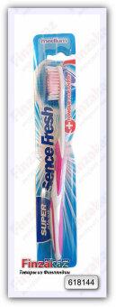 Зубная щетка Sencefresh (розовая)