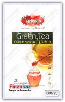 Чай Victorian (зелёный с медом) 20 шт