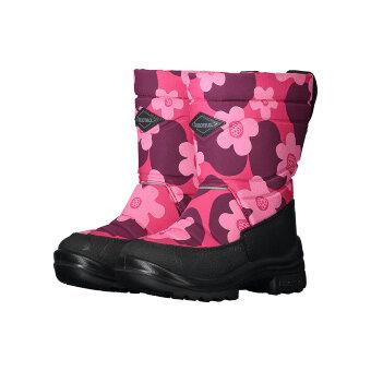 Валенки детские KUOMA Putkivarsi Pinkki Ulpukka / Pink Flower 1