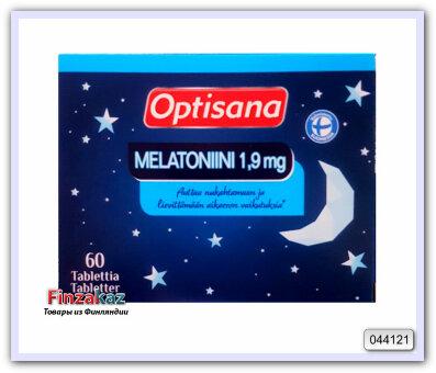 "Мелатонин для сна OPTISANA MELATONIINI ""1.9мг"" 60 таб"