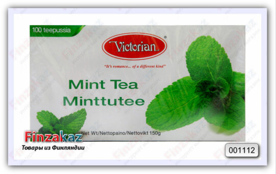 Чай Victorian (листья перечной мяты) 100 шт