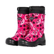 Валенки детские Kuoma Lumi lumilukko Pinkki Panda / Pink Panda