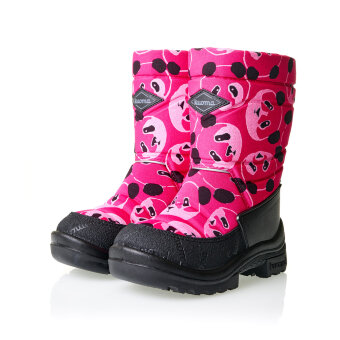 Валенки детские KUOMA Pinkki Panda / Pink Panda