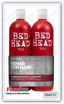 Профессиональный шампунь+ кондиционер Tigi Bed Head Resurrection  2 шт