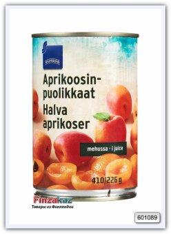 Абрикос половинки в соке Rainbow 410/235 гр