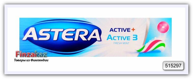 """Зубная паста """"Тройное действие"""" Astera Active 3 Toothpaste 100 мл"""