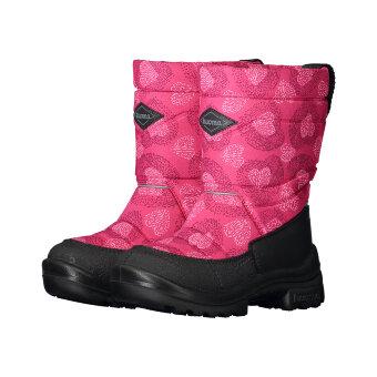 Валенки детские KUOMA Pinkki Sydän / Pink Heart